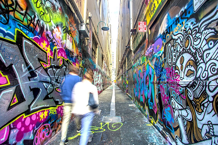 Where to see the best Melbourne street art